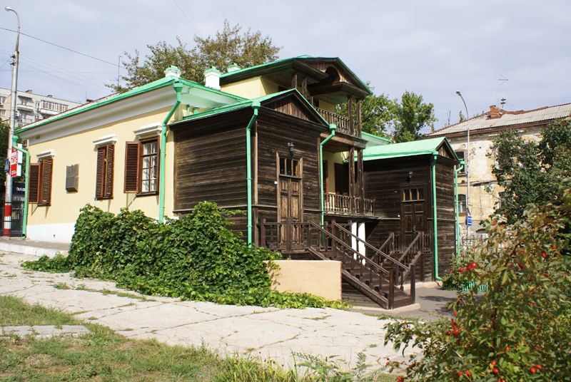 дом-музей чернышевского