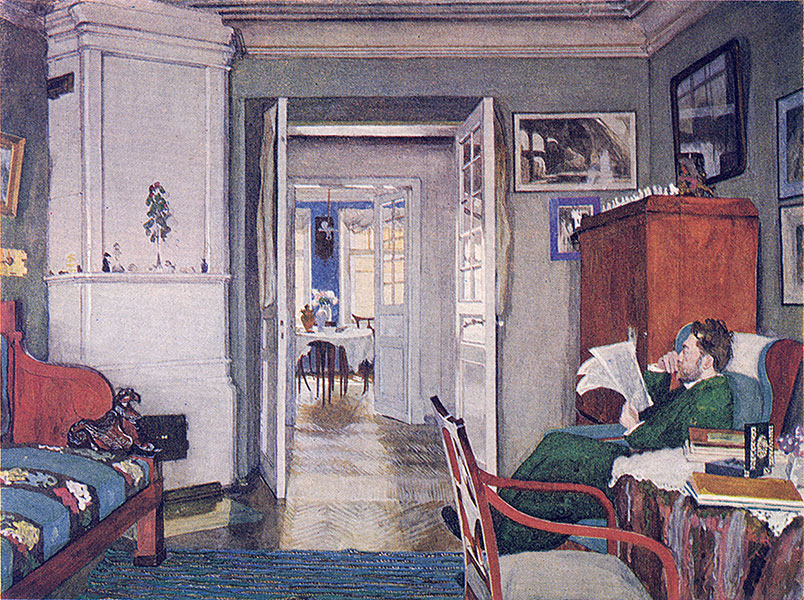 планировка русский квартиры 19 век