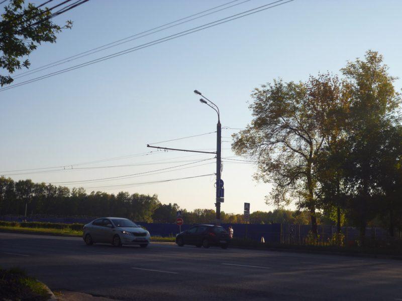 Площадка строительства аквапарка на пр. Гагарина. ЖК Зенит
