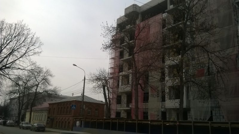 ЖК Преображенский. Апрель 2016