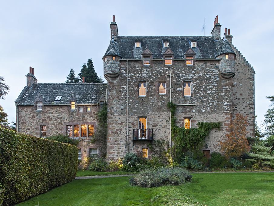 шотландский замок 17 в